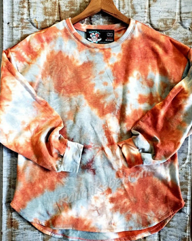 The Royston Tie Dye Fleece Tunic #3724