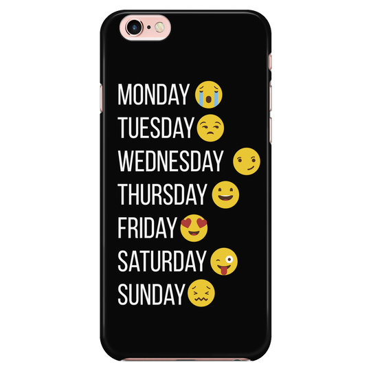 make my week Emoji, iPhone6 Cover