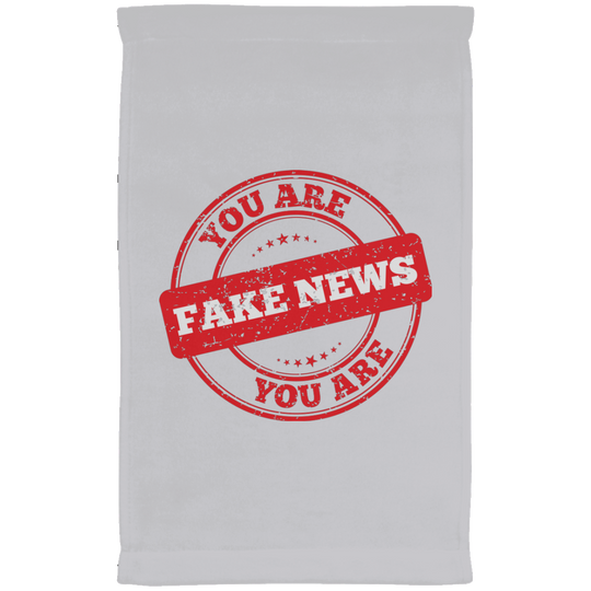 You are Fake News Stamp Style Kitchen Towel