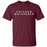 Chicken T Shirt, The Chicken Whisperer, Humorous  G200 Gildan Ultra Cotton T-Shirt