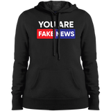 Fake News Network FNN LST254 Sport-Tek Ladies' Pullover Hooded Sweatshirt 2