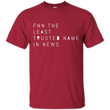 FNN The Least Trusted Network In News 2297 G200 Gildan Ultra Cotton T-Shirt