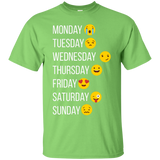 Emoji, Make my Week, Smiley, T Shirt
