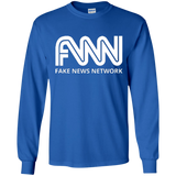 FNN Fake News Network Long Sleeve Tee Shirt  G240 Gildan LS Ultra Cotton T-Shirt