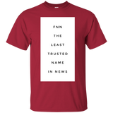 FNN The Least Trusted Name In News 2282 G200 Gildan Ultra Cotton T-Shirt