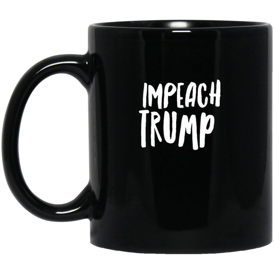 Impeach Trump cc1803 BM11OZ 11 oz. Black Mug