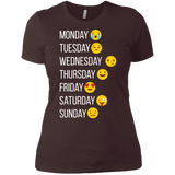 Emoji, Make my Week, Smiley, Boyfriend Tee, Emoji T Shirt