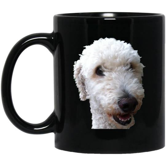 Shlotti schmal 11 oz. Black Mug