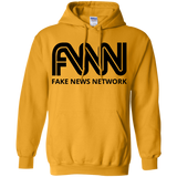 FNN Fake News Network Black Font G185 Gildan Pullover Hoodie 8 oz.