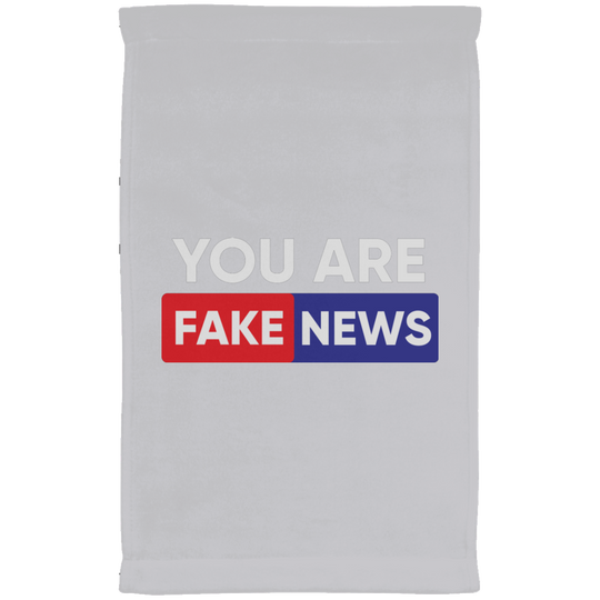 You are Fake News 2 Head Lines Kitchen Towel