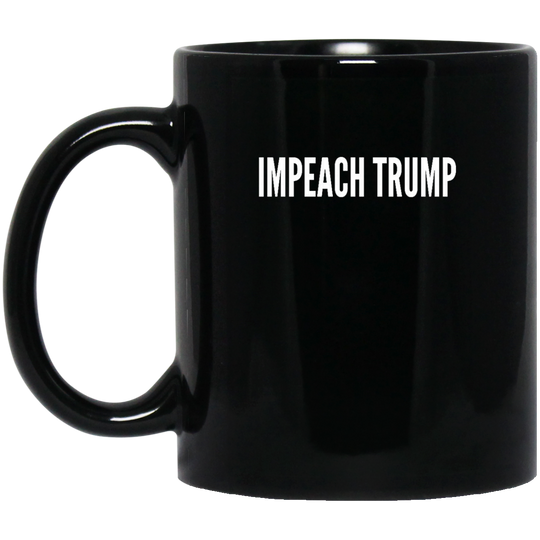 Impeach Trump cc1814 BM11OZ 11 oz. Black Mug