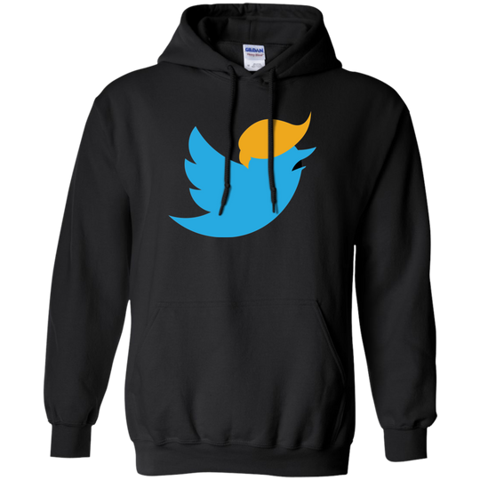 Impeach Trump The Twitterer 5th G185 Gildan Pullover Hoodie 8 oz.