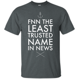 FNN The Least Trusted Name In News 2301 G200 Gildan Ultra Cotton T-Shirt
