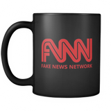 Fake News Network Black Coffee Mug
