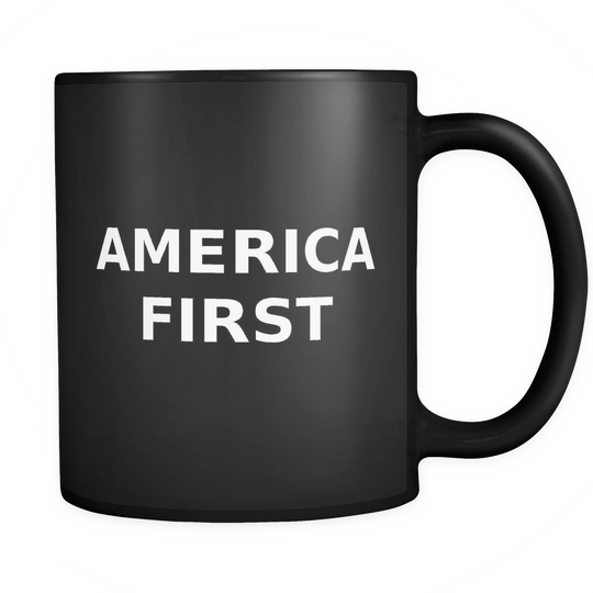 America First, Large Caps, Coffee Mug
