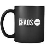 Chaos Coordinator Black Coffee Mug 9