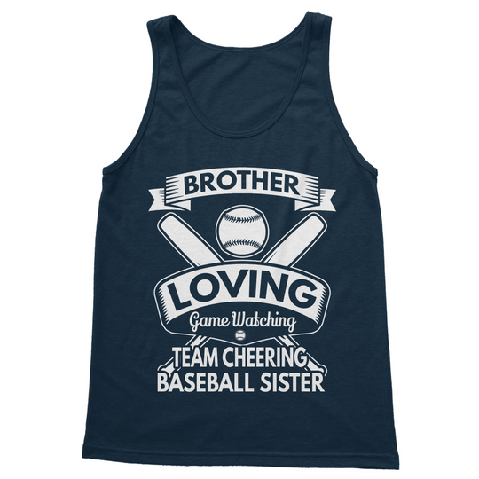 Brother Loving Game Watching Softstyle Tank Top