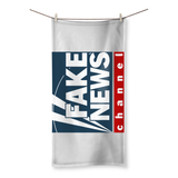 fake news channel Fake News Network Beach Towel
