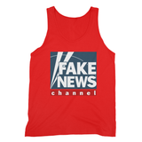 fake news channel Fine Jersey Tank Top