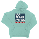 fake news channel College Hoodie