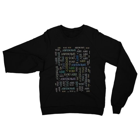 You Are Awesome -cloud Heavy Blend Crew Neck Sweatshirt