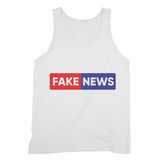 you are fake news Fine Jersey Tank Top