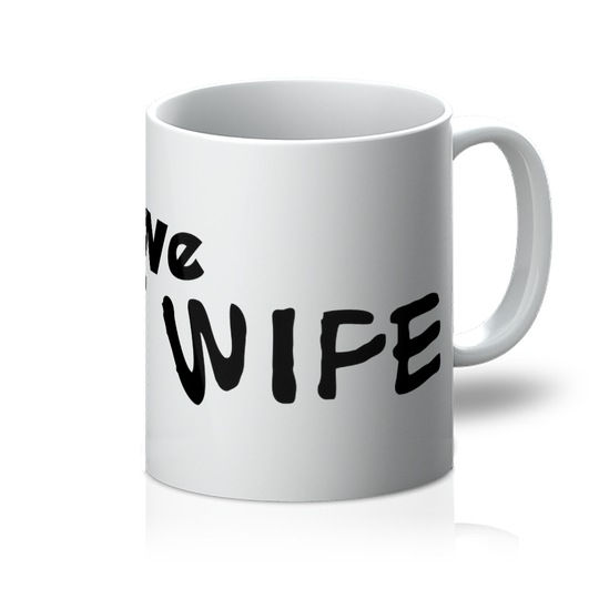 I Love My Wife Light Colors Mug