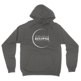 Total Solar Eclipse D California Fleece Pullover Hoodie