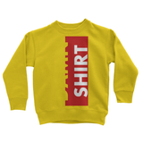Damn Shirt Gold Kids Sweatshirt