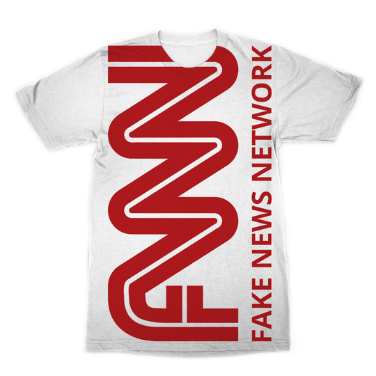 FNN Fake News Network Sublimation T-Shirt Apparel