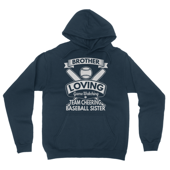 Brother Loving Game Watching California Fleece Pullover Hoodie