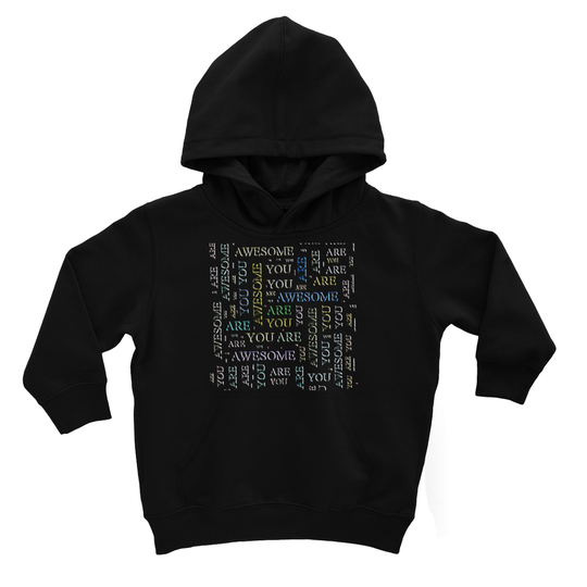 You Are Awesome -cloud Kids Hoodie