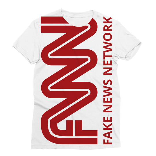FNN Fake News Network Trump Sublimation T-Shirt