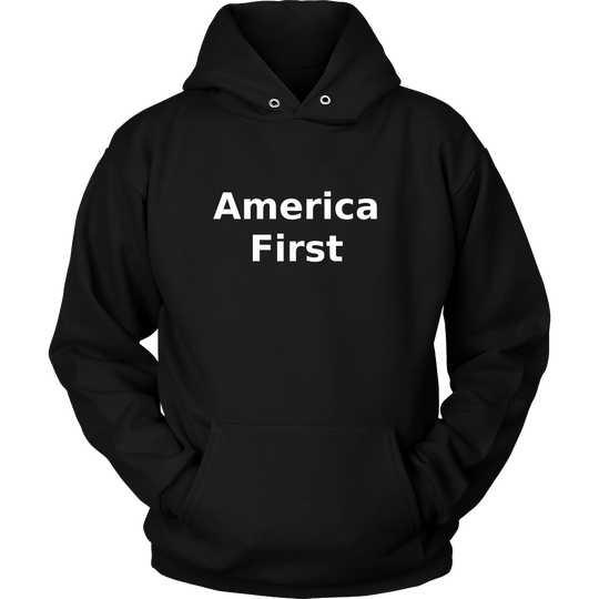 America First Hoodie, Support Trump