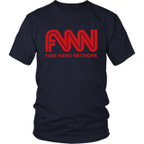 Fake News Network T-Shirt, Trump Fake News