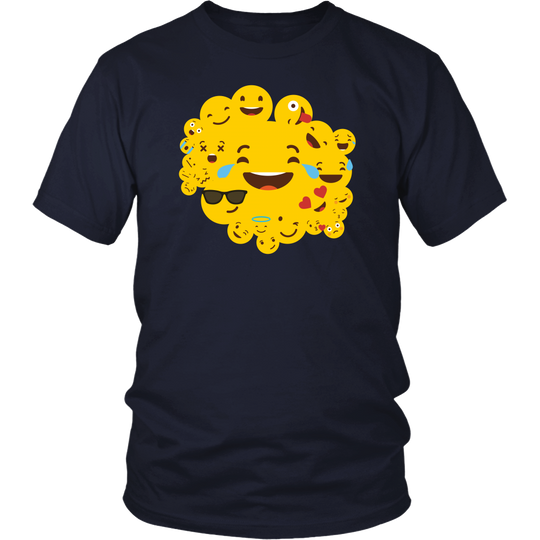 Emoji T Shirts, Funny Smiley Faces