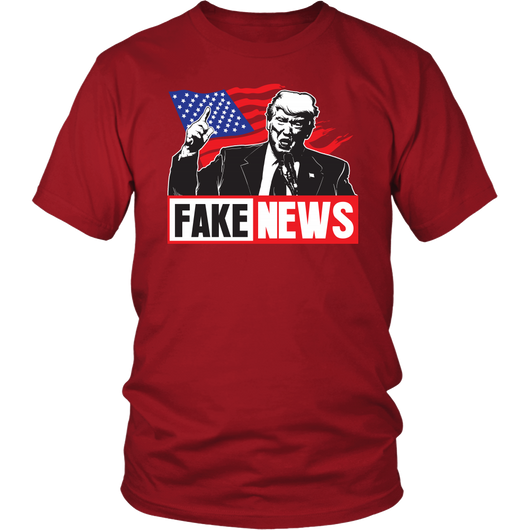 Fake News, Trump T-Shirt TShirt AA