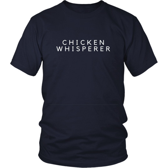 Chicken T Shirt, The Chicken Whisperer, Humorous T Shirts