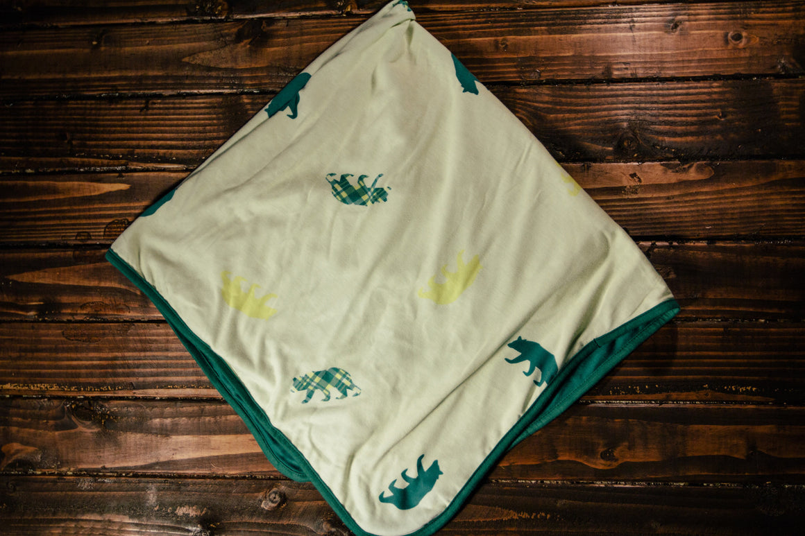 Baylor Oversized Toddler Blanket