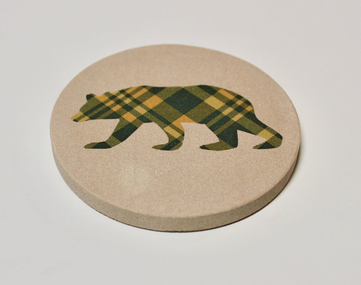 Dapper Bear Coaster