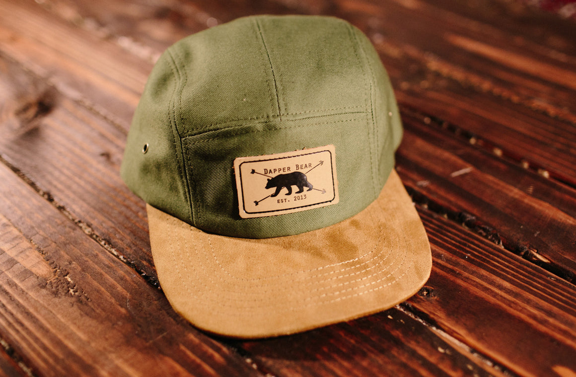 Dapper Bear Camp Hat