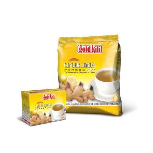 Gold Kili INSTANT GINGER LEMON DRINK 20 x 18g - Mado's Food Hall