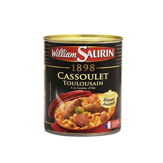 William Saurin - Cassoulet goose fat  420g - Mado's Food Hall