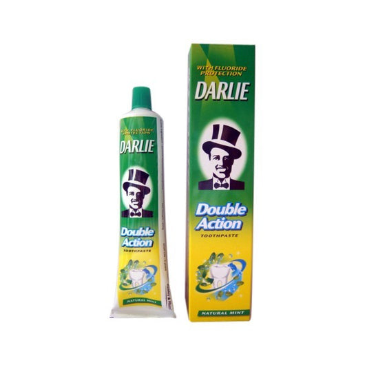 Darlie Toothpaste Double Action 2 Mints Power Fluoride - 1 x 250g - Mado's Food Hall