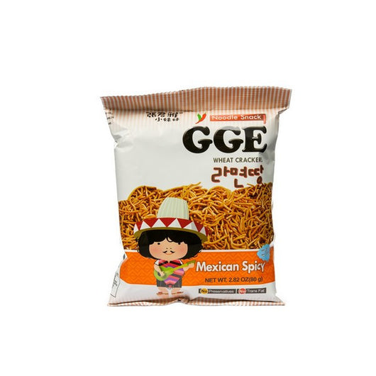 GGE Wheat Cracker Mexican Spicy Flavor Snack 80G - Mado's Food Hall