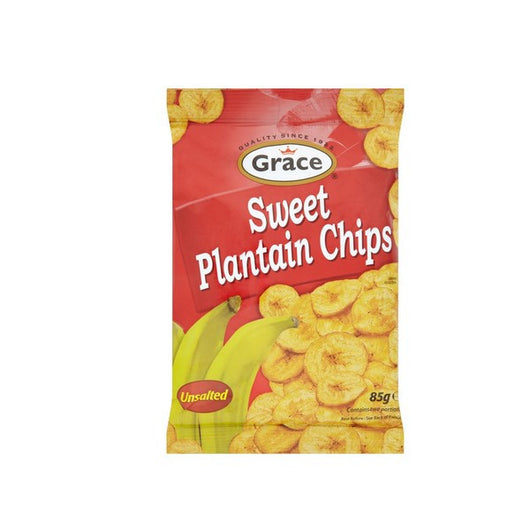 Grace Sweet Plantain (Unsalted) Chips 85g - Mado's Food Hall
