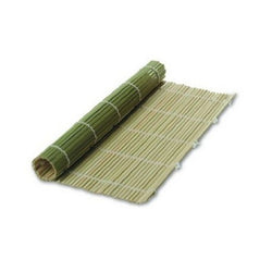 Authentic Green Bamboo Sushi Mat 9 1/2