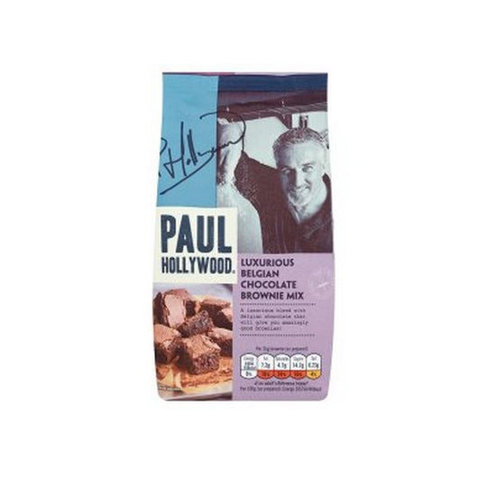 Paul Hollywood Luxurious Belgian Chocolate Brownie Mix 480g - Mado's Food Hall