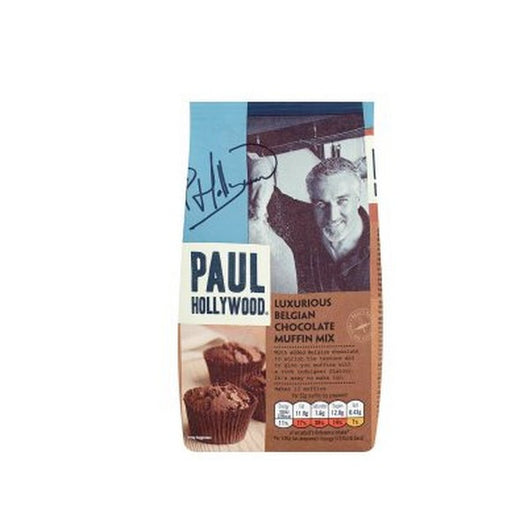 Paul Hollywood Luxurious Belgian Chocolate Muffin Mix 400g - Mado's Food Hall