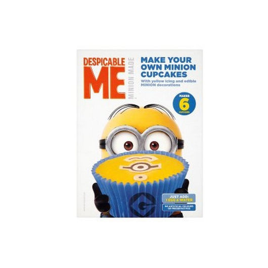 Despicable Me Make Your Own Minion Cupcakes 225g - Mado's Food Hall